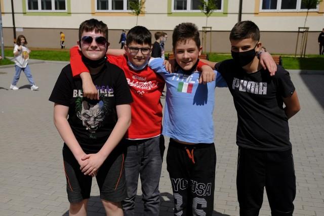 Powrót do nauki stacjonarnej w SP nr 24 w Toruniu to czysta przyjemność - bez klasówek i odpytywania