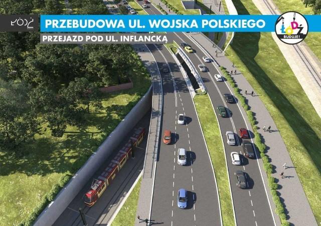 Tak po remoncie będzie wyglądać ulica Wojska Polskiego.