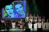 """Powitanie 2020 roku na koncercie """"Sinatra contra Presley"""" w teatrze w Grudziądzu [zdjęcia]"""