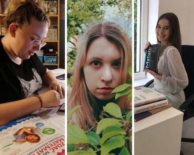 Julia, Antosia i Maja wykorzystują każdą chwilę na przygotowania do matury - samodzielne lub wspólne z nauczycielem