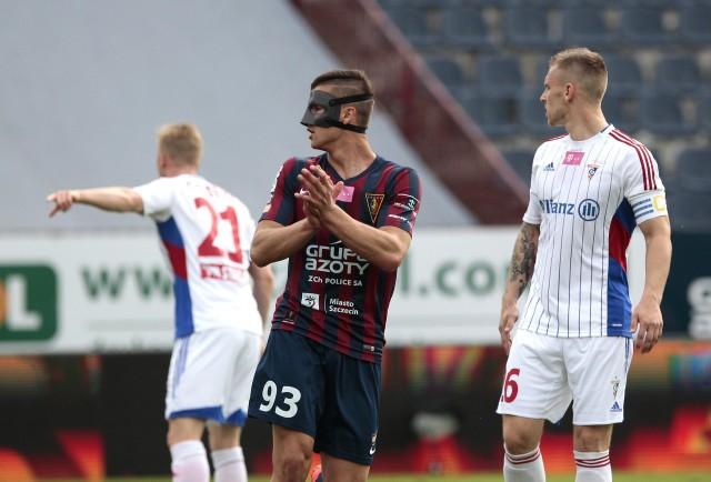 Łukasz Zwoliński już zaciera ręce na kolejne bramki. W ostatnich pięciu meczach strzelił sześć goli, w każdym trafiając choć raz. Bramkę zdobył też w kwietniowym meczu z Górnikiem (3:1).