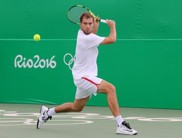 Jerzy Janowicz odpadł już w pierwszej rundzie singla