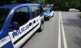 Wypadek na skrzyżowaniu w Mniszku. Motorowerzysta w szpitalu