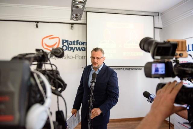 Poseł Tomasz Lenz przewodniczącym regionu kujawsko-pomorskiego Platformy Obywatelskiej jest od 2006 roku. Zamierza ubiegać się o reelekcję
