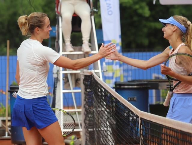 Katarzyna Kawa w pierwszym meczu mistrzostw Polski 2021 zmierzyła się z Pauliną Czarnik