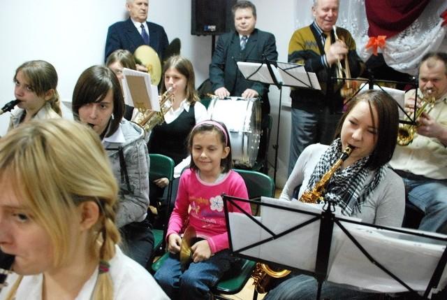 Wiejska orkiestra z Wielgiego