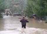 Alarm przeciwpowodziowy w Cieszynie! Poziom rzeki Olzy wynosi 250 cm. Prognozy pogody mówią, że nadal będzie padać