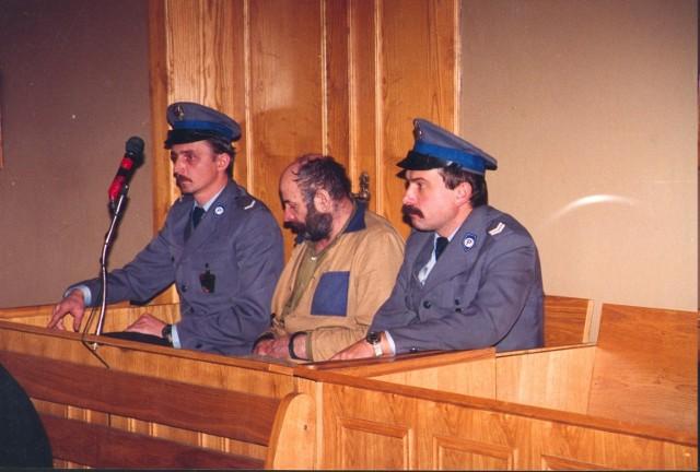 Henryk Moruś przed sądem w Piotrkowie Trybunalskim