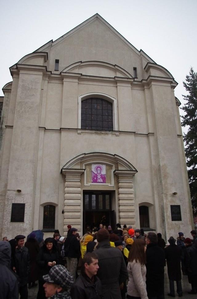 Wszystkie msze św. w Kościele Akademickim KUL w niedzielę będą dostępne dla wiernych wyłącznie w transmisji on-line