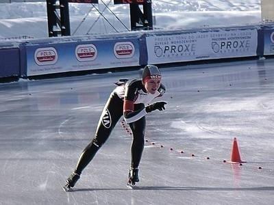 Hanna Cudzich wygrała punktację generalną PP na 1000 i 3000 m. Fot. Zdzisław Karaś