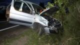 Na trasie Malczkowo – Malczkówko dachował pijany kierowca (ZDJĘCIA)