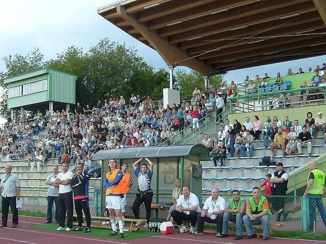 Stadion Olimpii żyje ostatnio m.in.piłką nożną, ale patron przypominałby także o grudziądzkiej świetności królowej sportu - lekkoatletyce