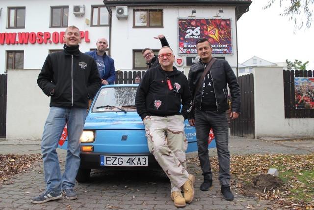 Jurek Owsiak wiele razy gościł w powiecie zgierskim...