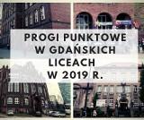 Progi punktowe w liceach ogólnokształcących w Gdańsku w 2019 r. Ile punktów musieli mieć absolwenci gimnazjów i szkół podstawowych