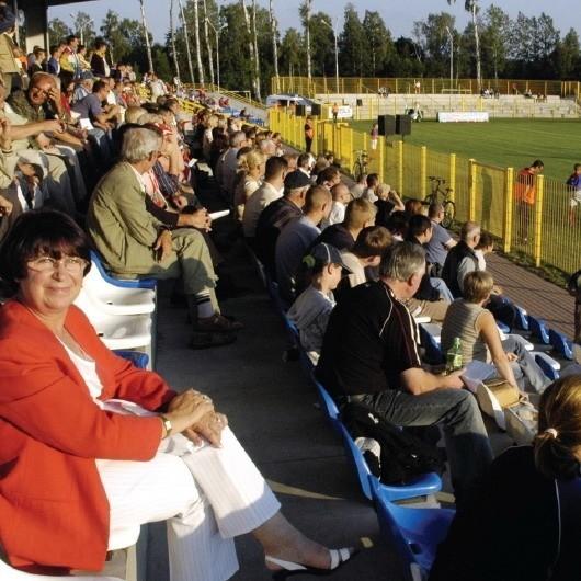 Dzięki dzisiejszym decyzjom stadion przy ul. Zielonej może gościć europejskie reprezentacje. Jak chociażby w spotkaniu Polska – Dania w 2005 roku.