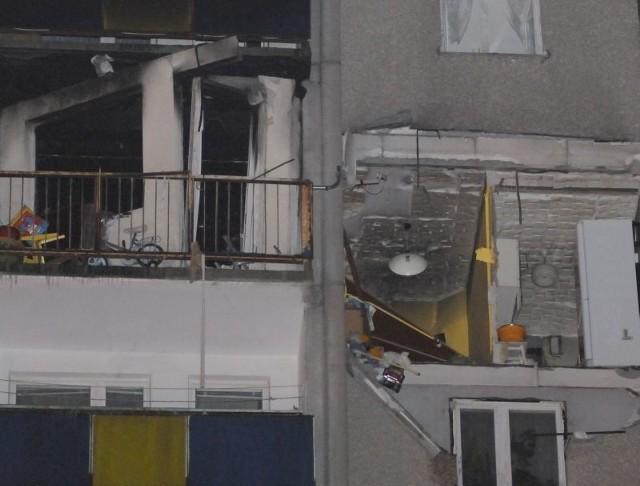 Zniszczone podczas wybuchu gazu mieszkania
