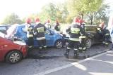 Groźny wypadek na mostach Jagiellońskich. Są ranni [ZDJĘCIA]