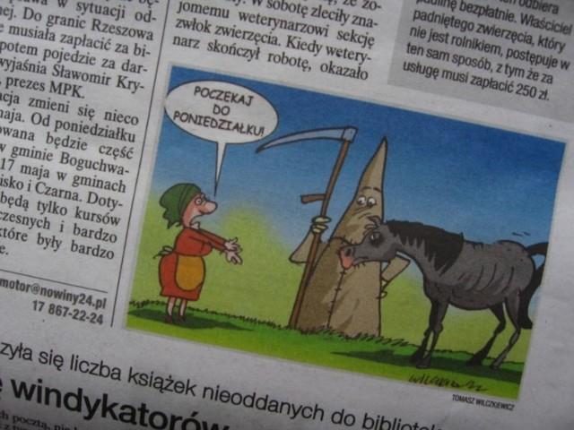 Sprawa zakopanego w ogródku konia może wydawać się śmieszna, ale skoro nadano jej urzędowy bieg musi być rozwiązana w majestacie prawa.