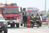 Karambol na S8 pod Wrocławiem. Zderzenie 6 aut i busa