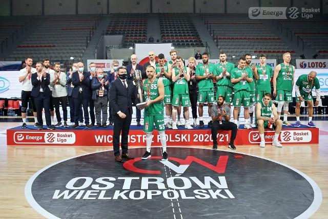 Koszykarze Enei Zastalu BC Zielona Góra przegrali 2:4 ze Stalą Ostrów Wlkp. finałową serię w Energa Basket Lidze.