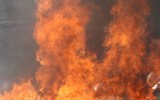 Pożar w tartaku w gminie Garbatka Letnisko. Strażacy walczyli z ogniem przez wiele godzin