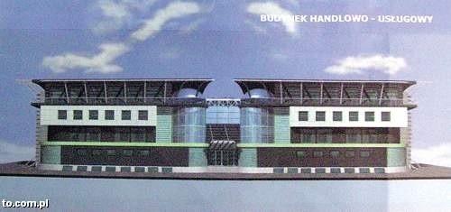 Pierwsze wizualizacja galerii pokazana przez Narev Inwestycje w 2006 roku