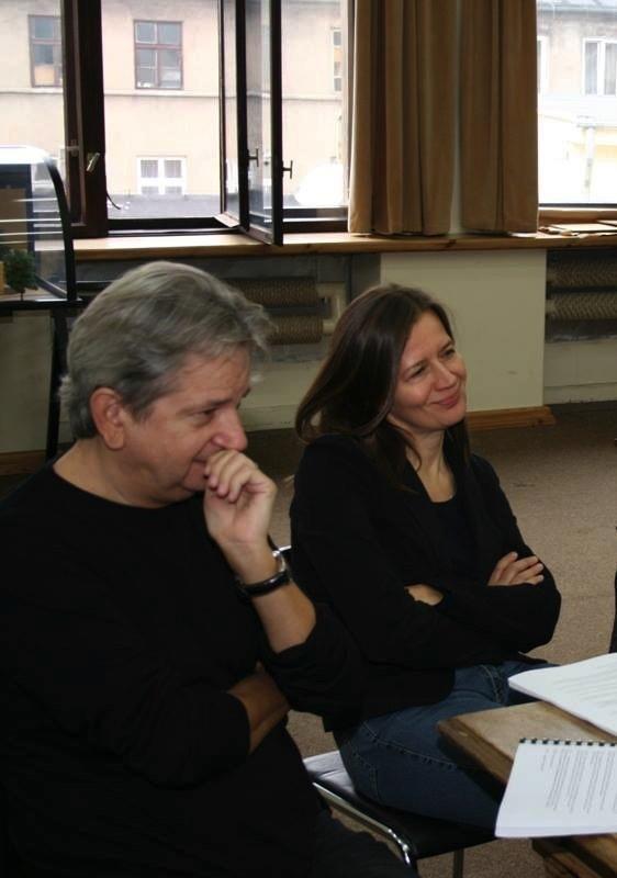 Juliusz Machulski i Ewa Pilawska w Teatrze Powszechnym