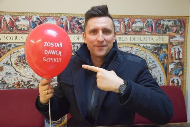 Rafał Jaszczyński zaprasza młodych do wzięcia udziału w akcji.