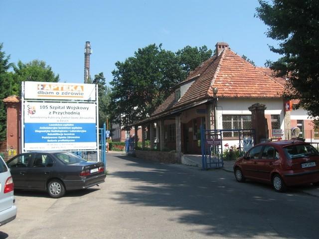 Z usług leczniczych 105. Szpitala Wojskowego korzystają mieszkańcy wojwództwa lubuskiego i dolnośląskiego
