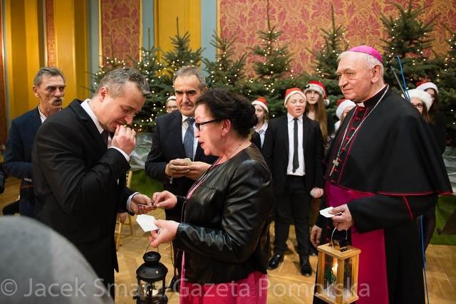 Wojewoda Mikołaj Bogdanowicz i przewodnicząca RKGW Danuta Grzyb