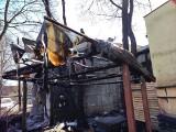 Dwa większe pożary w Trójmieście w nocy z soboty 3.04.2021 na niedzielę 4.04.2021 roku