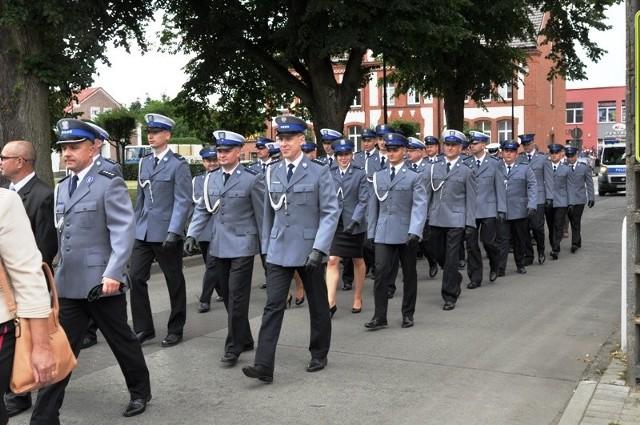 Mundurowi z powiatu strzelecko - drezdeneckiego Święto Policji organizują w Drezdenku.