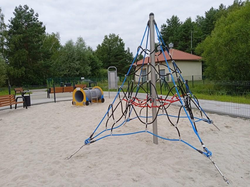 Teren nowego placu zabaw na Jędrzychowie