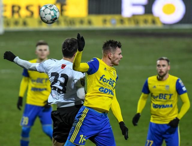 Arka Gdynia pokonała w 1/8 finału Fortuny Pucharu Polski Górnika Łęczna. W ćwierćfinale zmierzy się z Puszczą Niepołomice
