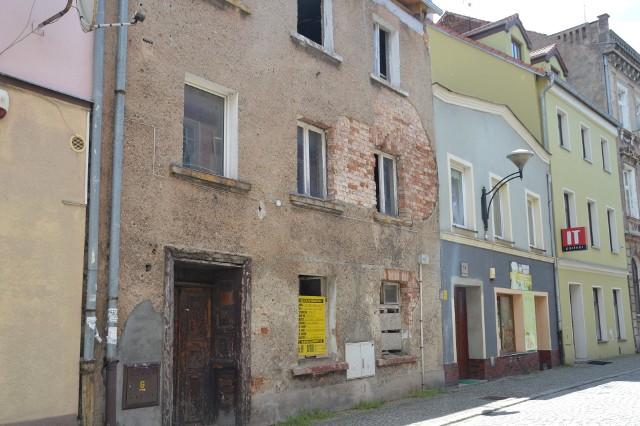 Ul. Słowackiego w Żaganiu
