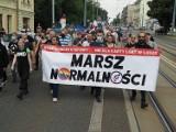 Łódzcy narodowcy przemaszerowali ulicą Piotrkowską