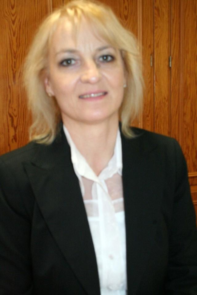 Anna Bartołd, przewodnicząca komisji