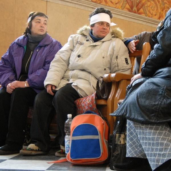 Głodujący Polacy zapewniają, że będą protestować do momentu, aż władze Lwowa zgodzą się na zwrot kościoła.