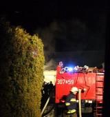 Pożar budynku gospodarczego w Kątach Opolskich