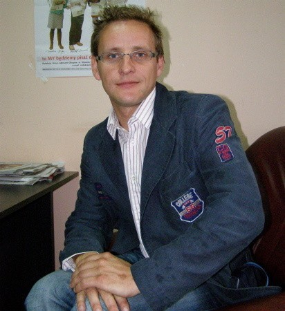 Adam Borysiewicz ma 30 lat, kawaler, z wykształcenia jest politologiem, w SM Nadodrze pracuje od czterech lat.