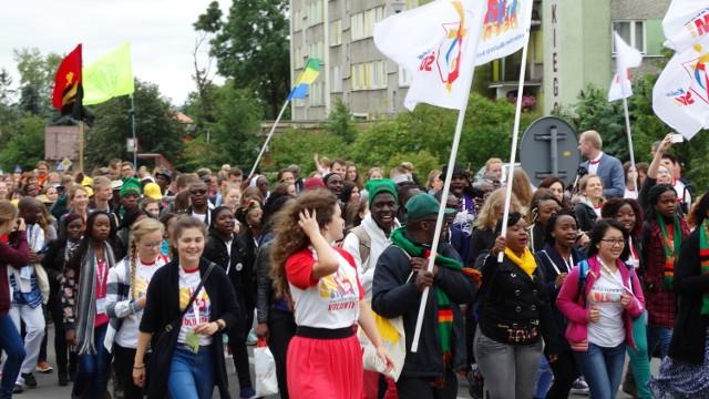 Do Sokółki przyjechali młodzi pielgrzymi z całego świata