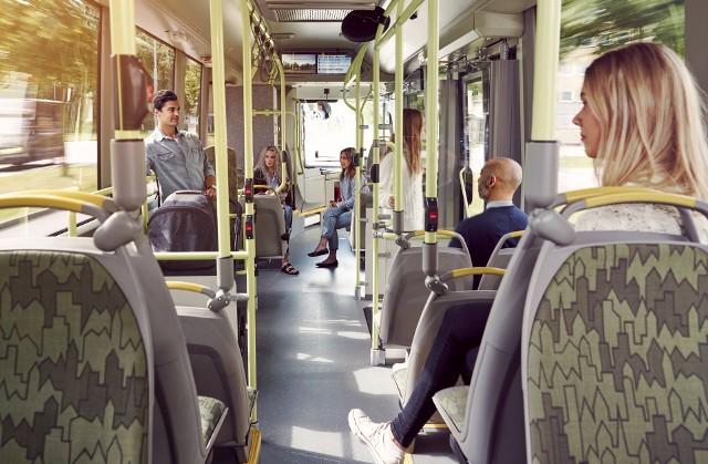 Siedzenia z powłoką antywirusową mają zwiększyć bezpieczeństwo pasażerów MPK