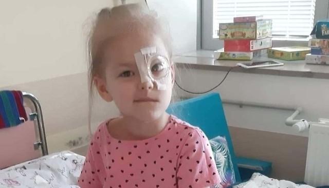 Życie 5-letniej Niny z Gostchorza wywróciło się w tym roku do góry nogami. Okazało się, że ma bardzo rzadki typ nowotworu, z którym teraz walczy. Potrzebna jest pomoc!