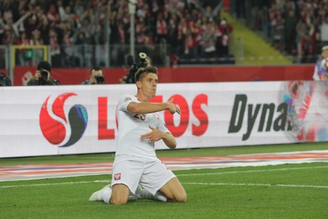 Krzysztof Piątek zdobył jesienią ubiegłego roku bramkę dla reprezentacji w przegranym meczu Ligi Narodów z Portugalią
