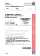 Matura 2019. JĘZYK NIEMIECKI poziom podstawowy + rozszerzony ODPOWIEDZI, ARKUSZE CKE. Matura z j. niemieckiego podstawa 14.05.2019