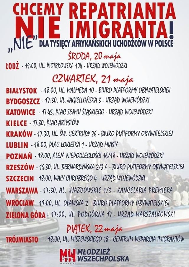 Takie protesty odbędą się w całym kraju. W białostockim proteście na specjalnym wydarzeniu na portalu społecznościowym udział zapowiedziało niemal 2,5 tys. osób.