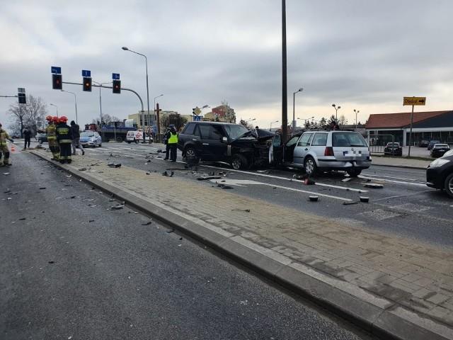 Wypadek spowodował utrudnienia w ruchu samochodów w tej części miasta.