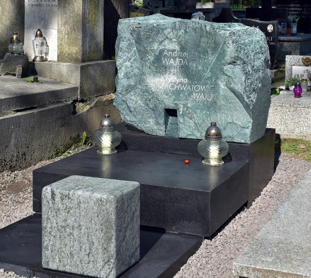 Andrzej Wajda, reżyser. Cmentarz Salwatorski w Krakowie