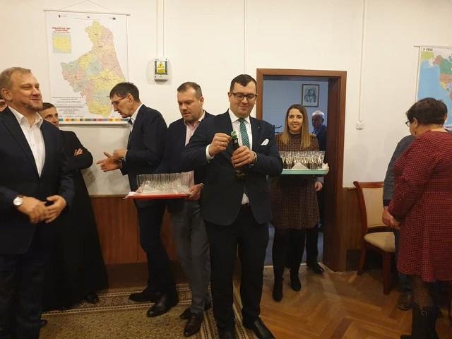 Biuro poselskie w Białymstoku otworzył niedawno poseł Stefan Krajewski