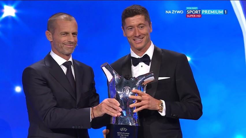 Lewandowski uznany Piłkarzem Roku UEFA! Historyczne wyróżnienie